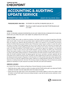Accounting and Auditing Update Service