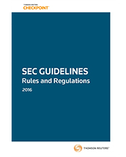 SEC Guidelines: Rules and Regulations (2016 Edition)
